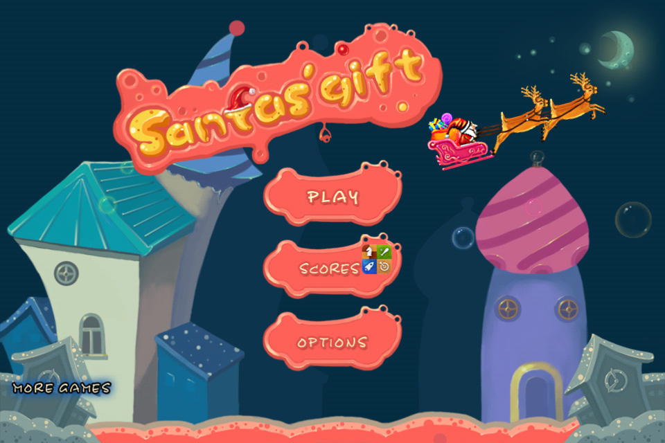 Screenshot Santa's Gift for iPhone/iPod